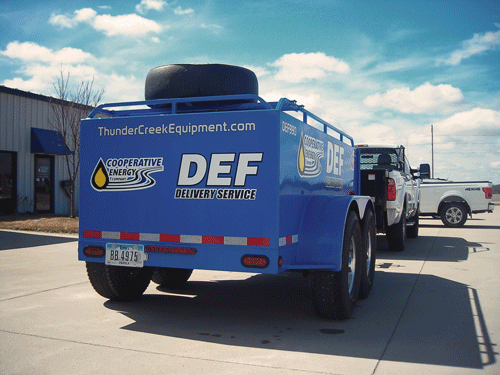 Diesel Exhaust Fluid delivery from Coop Energy Co